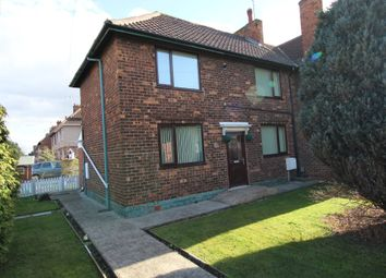 Thumbnail 3 bed semi-detached house for sale in Welfare Road, Woodlands, Doncaster