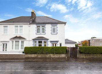 Thumbnail 3 bed semi-detached house for sale in Crookston Road, Cardonald, Glasgow