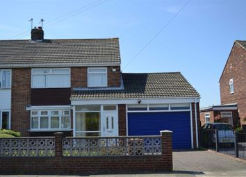 Thumbnail 3 bed semi-detached house to rent in Warwick Drive, East Herrington, Sunderland