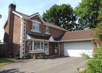 Thumbnail 4 bedroom detached house for sale in Liddell Close, Pontprennau, Cardiff