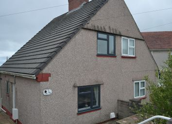 Thumbnail 2 bed semi-detached house for sale in Powys Avenue, Townhill, Swansea