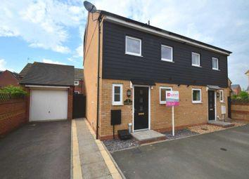 Thumbnail 3 bed semi-detached house to rent in Somerset Walk, Broughton, Milton Keynes