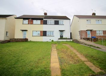 Thumbnail 3 bed semi-detached house for sale in Heol-Y-Foelas, Cefn Glas, Bridgend.