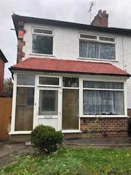 Thumbnail 3 bed end terrace house to rent in Tyburn Road, Erdington, Birmingham