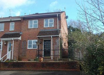 Thumbnail 3 bed end terrace house to rent in Brand Road, Honiton