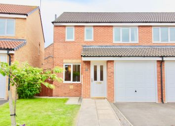 Thumbnail 3 bed semi-detached house for sale in Evergreen Close, Hartlepool