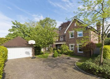 Thumbnail 5 bed detached house to rent in Hunting Close, Esher