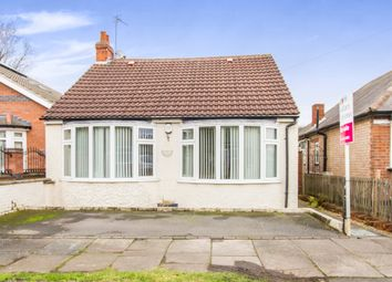 Thumbnail 3 bed detached bungalow for sale in Melton Avenue, Leicester