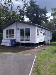 Thumbnail 3 bed lodge for sale in Ringwood Road, St. Leonards, Ringwood