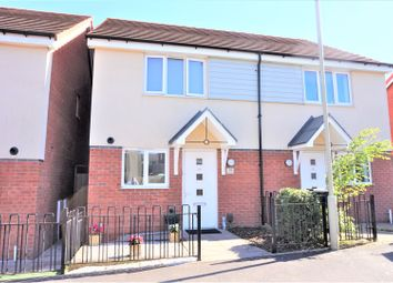 Thumbnail 2 bed semi-detached house for sale in Hackett Drive, Dudley