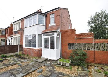 Thumbnail 3 bed semi-detached house for sale in Denstone Avenue, Bispham, Blackpool, Lancashire