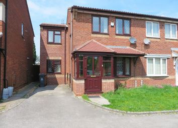 Thumbnail 3 bedroom semi-detached house for sale in Osborne Drive, Darlaston, Wednesbury