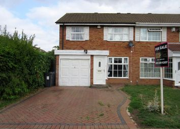 Thumbnail 3 bed semi-detached house for sale in Nairn Close, Hall Green, Birmingham