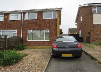 Thumbnail 3 bed semi-detached house for sale in Masefield Drive, Rushden