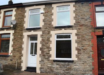 Thumbnail 3 bed terraced house to rent in Vicarage Terrace, Cwmparc, Treorchy, Rhondda, Cynon, Taff.