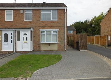 Thumbnail 3 bed semi-detached house to rent in Beaconsfield Road, Horninglow, Burton-On-Trent