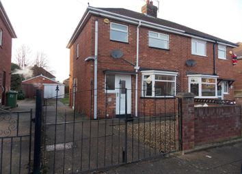 Thumbnail 3 bed semi-detached house to rent in Brocklesby Place, Grimsby