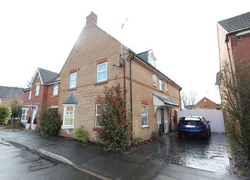 Thumbnail 4 bed detached house for sale in Loughland Close, Blaby, Leicester, Leicestershire