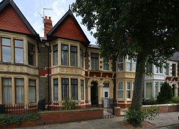 Thumbnail 5 bed terraced house for sale in Kimberley Road, Penylan, Cardiff