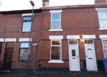 Thumbnail 2 bedroom terraced house for sale in Lynton Street, Derby
