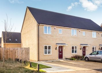 Thumbnail 2 bedroom end terrace house for sale in Jeckells Road, Stalham, Norwich