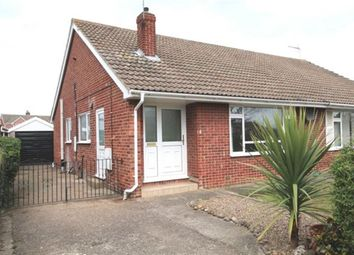 Thumbnail 2 bed bungalow to rent in Kingston Crescent, Hambleton, Selby
