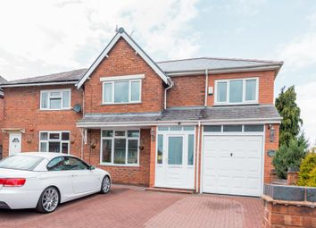 Thumbnail 3 bedroom semi-detached house for sale in Penderel Street, Walsall