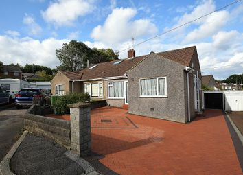 Thumbnail 2 bedroom semi-detached bungalow for sale in Cefn Nant, Rhiwbina, Cardiff.