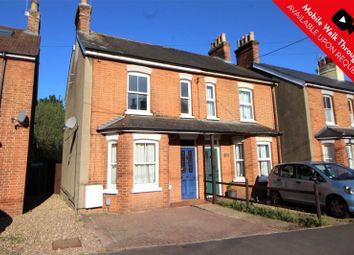 Thumbnail 3 bed semi-detached house for sale in Heather Cottages, Frimley Road, Ash Vale