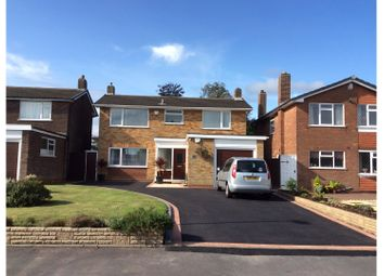 Thumbnail 3 bed detached house for sale in Rushall Close, Walsall
