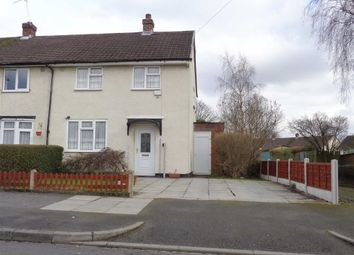 Thumbnail 2 bed end terrace house for sale in Shopton Road, Shard End, Birmingham