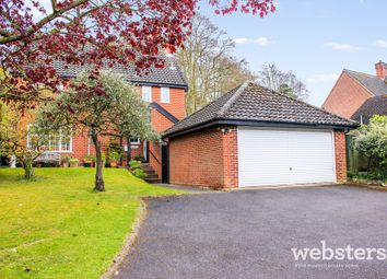 Thumbnail 4 bed detached house for sale in Norwich Road, Stoke Holy Cross, Norwich