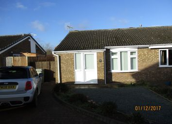 Thumbnail 2 bed bungalow to rent in Dove Close, Oakham
