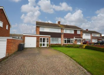 Thumbnail 3 bed semi-detached house for sale in Rectory Close, Stanwick, Wellingborough, Northamptonshire