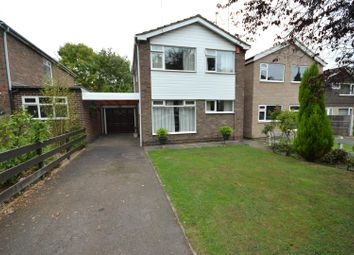 Thumbnail 3 bed detached house for sale in Elmfield Avenue, Leicester