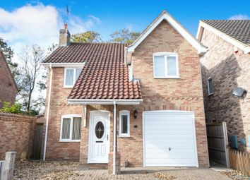 Thumbnail 3 bed detached house for sale in St Aubins Crescent, Heighington, Lincoln