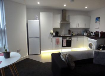 Thumbnail 1 bed flat to rent in North Hill, Plymouth