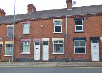 Thumbnail 2 bedroom terraced house to rent in Hartshill Road, Hartshill, Stoke-On-Trent