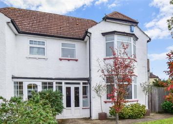 Thumbnail 3 bed semi-detached house for sale in Meadow Close, Sutton, Surrey
