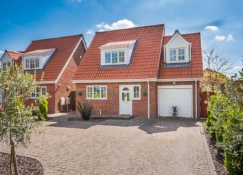 Thumbnail 3 bedroom detached house for sale in Great Barton, Bury St Edmunds, Suffolk