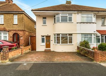 Thumbnail 3 bed semi-detached house for sale in Sunnymead Avenue, Gillingham, Kent
