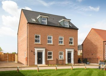 """Thumbnail 3 bed semi-detached house for sale in """"Greenwood"""" at Warkton Lane, Barton Seagrave, Kettering"""