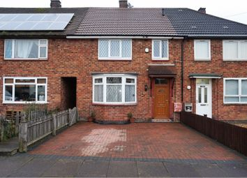 Thumbnail 3 bedroom terraced house for sale in Dominion Road, Leicester