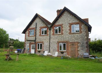 Thumbnail 5 bed farmhouse for sale in Blandford Road, Salisbury
