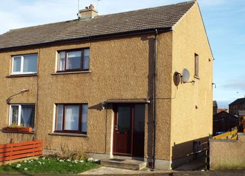 Thumbnail 2 bed semi-detached house for sale in Mount Pleasant Road, Thurso