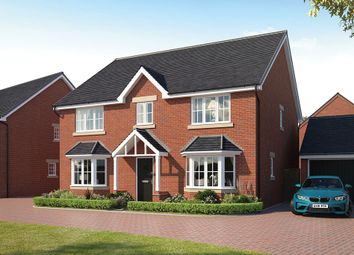 Thumbnail 5 bed detached house for sale in The Harlington, Manor House Park, Biddenham