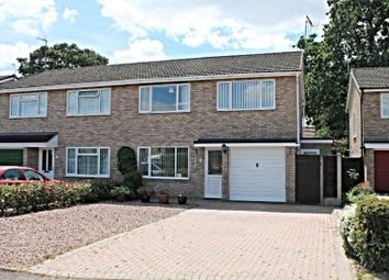 Thumbnail 3 bed semi-detached house for sale in Goodwood Close, Fernhill Heath, Worcester