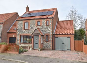 Thumbnail 3 bed link-detached house for sale in Beechlands Park, Southrepps, Norwich