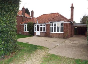 Thumbnail 2 bed bungalow for sale in Fakenham, Norfolk, England