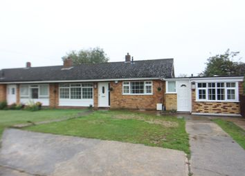 Thumbnail 4 bed semi-detached bungalow for sale in Pond Close, Hethersett, Norwich